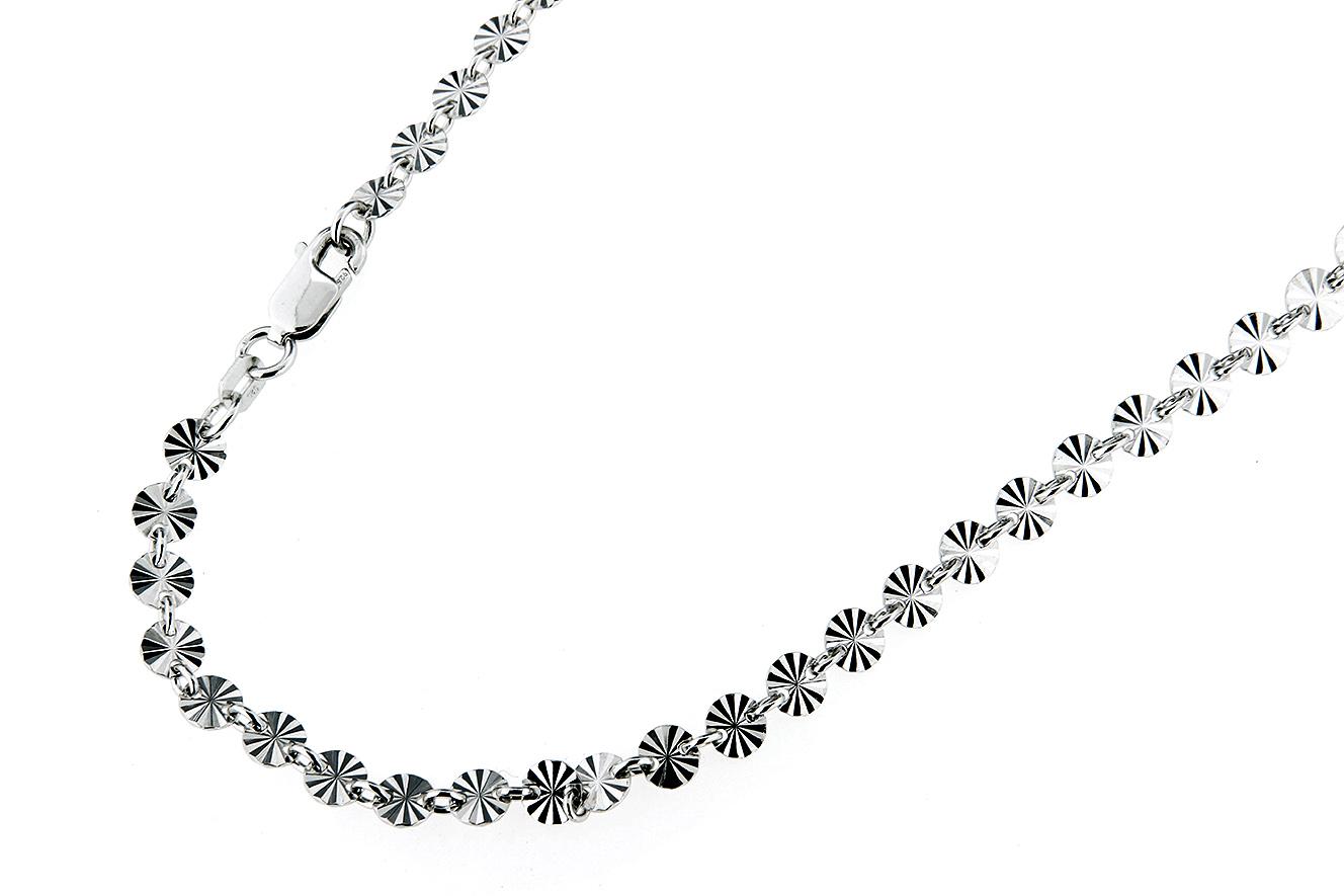 19cm Armband in Silber 925 rhodiniert mit Sternenschliff
