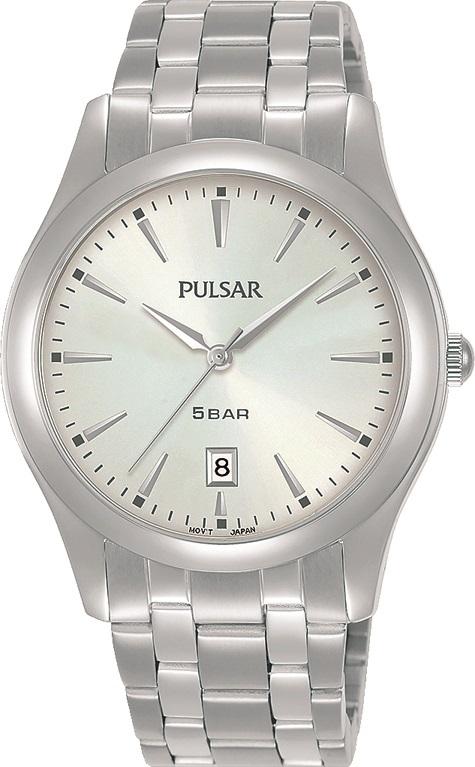 Armbanduhr von Pulsar PG8313X1 mit Edelstahlgehäuse und Faltschließe