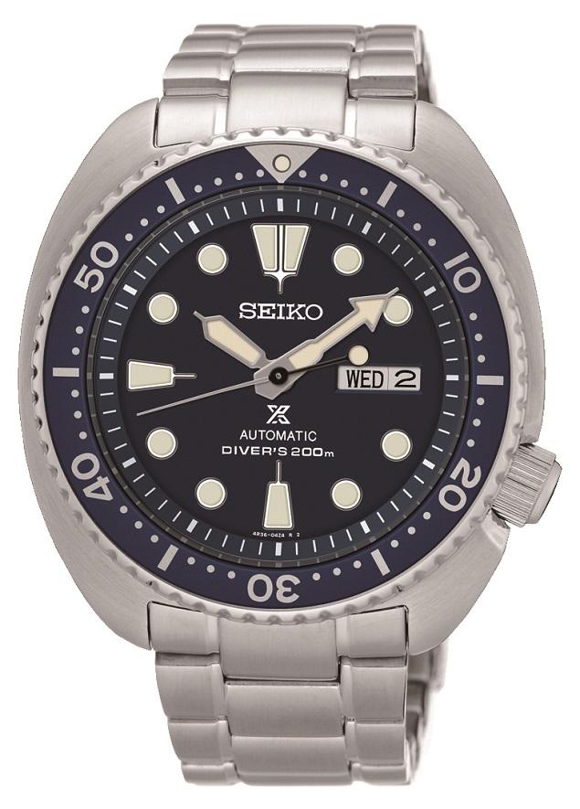 Automatik Armbanduhr aus dem Haus Seiko SRP773K1 Turtle mit Handaufzug Leuchtzeigern Prospex