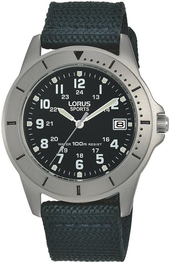 Armbanduhruhr von Lorus RS937DX9 im Fliegeruhrendesign mit Leuchtzeiger