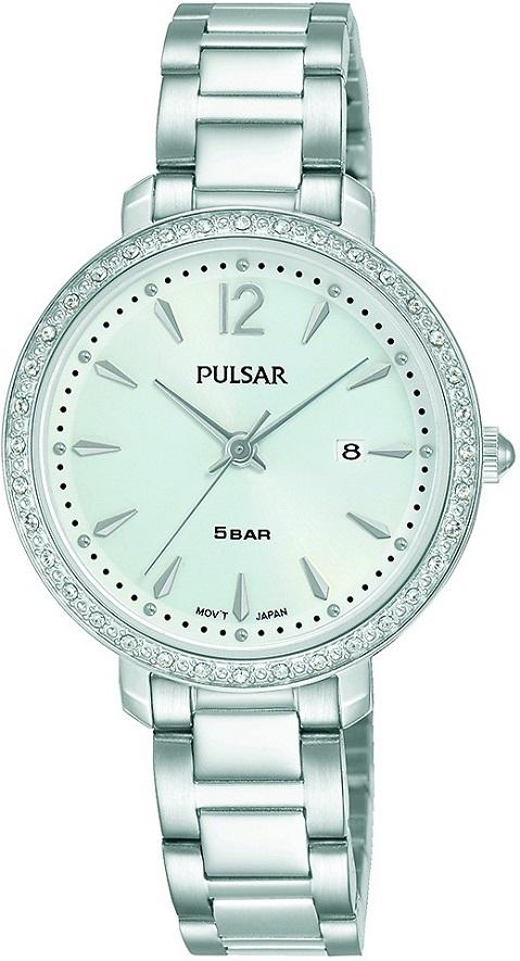 Armbanduhr von Pulsar PH7511X1 mit Edelstahlgehäuse und Metallarmband Swarowski
