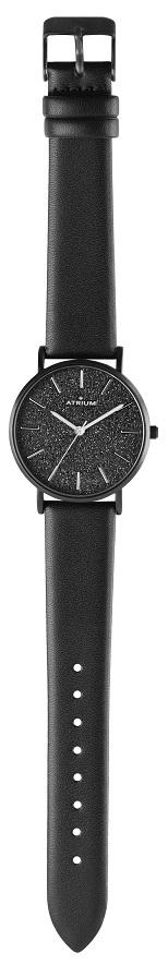 Armbanduhr Fashion von Atrium A35-26 mit Sternenzifferblatt in anthrazit