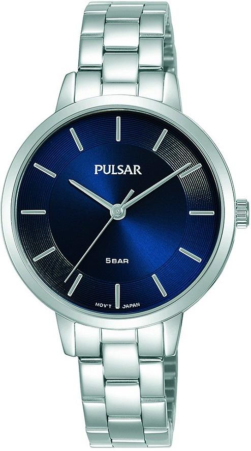 Armbanduhr von Pulsar PH8475X1 mit Edelstahlgehäuse und Metallarmband