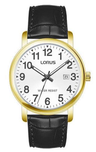 Herrenarmbanduhr von Lorus RG835CX9 mit Edelstahlgehäuse und Datumsanzeige