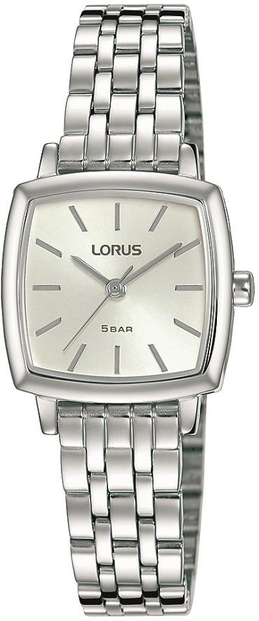 Damenarmbanduhr von Lorus RG235RX9 mit Edelstahlgehäuse und silbernen Zifferblatt