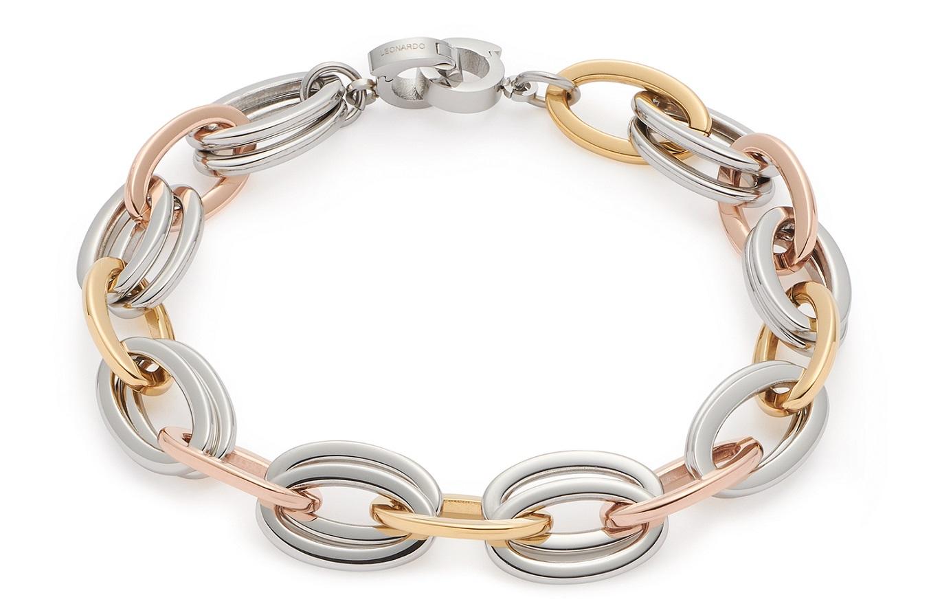 19cm Armband von Leonardo Valesca 018118 Clip&Mix und inklusive Verbindungsring